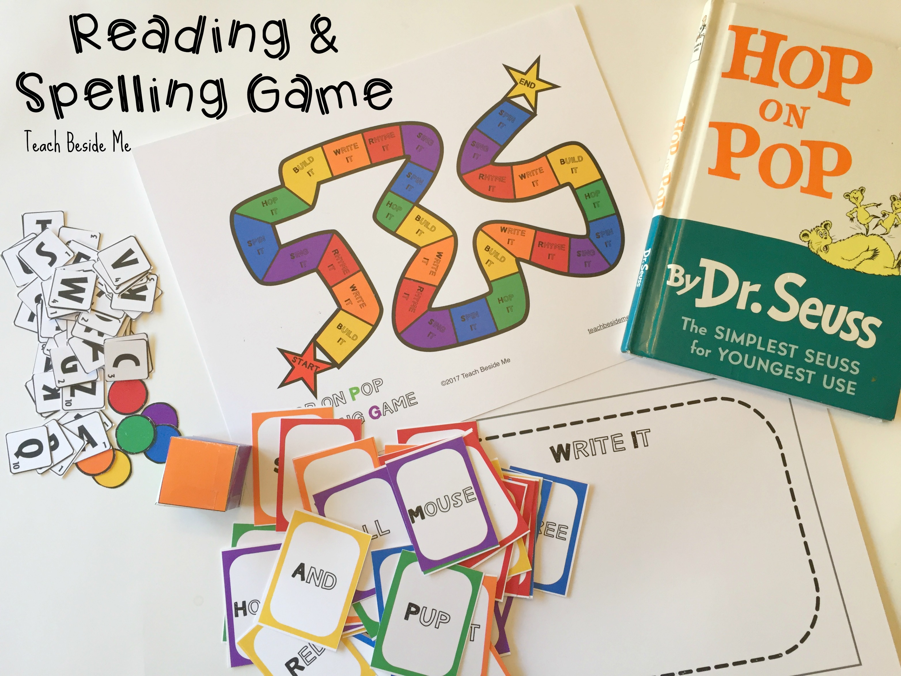 reading & spelling game